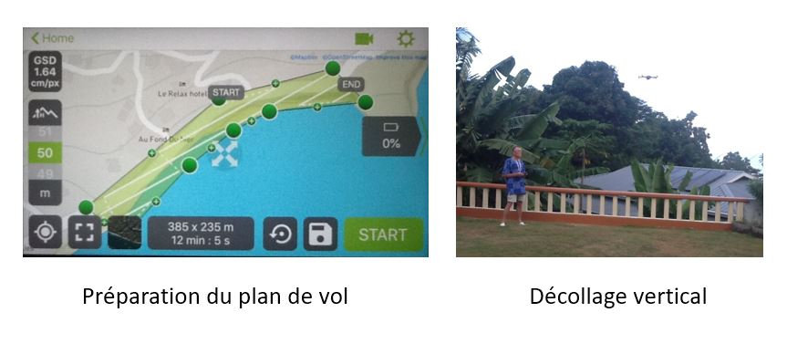 Plan de vol + take off