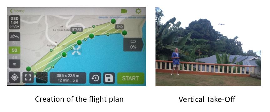 flight plan + Take off